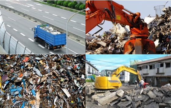 産業廃棄物処理 Industrial waste treatment